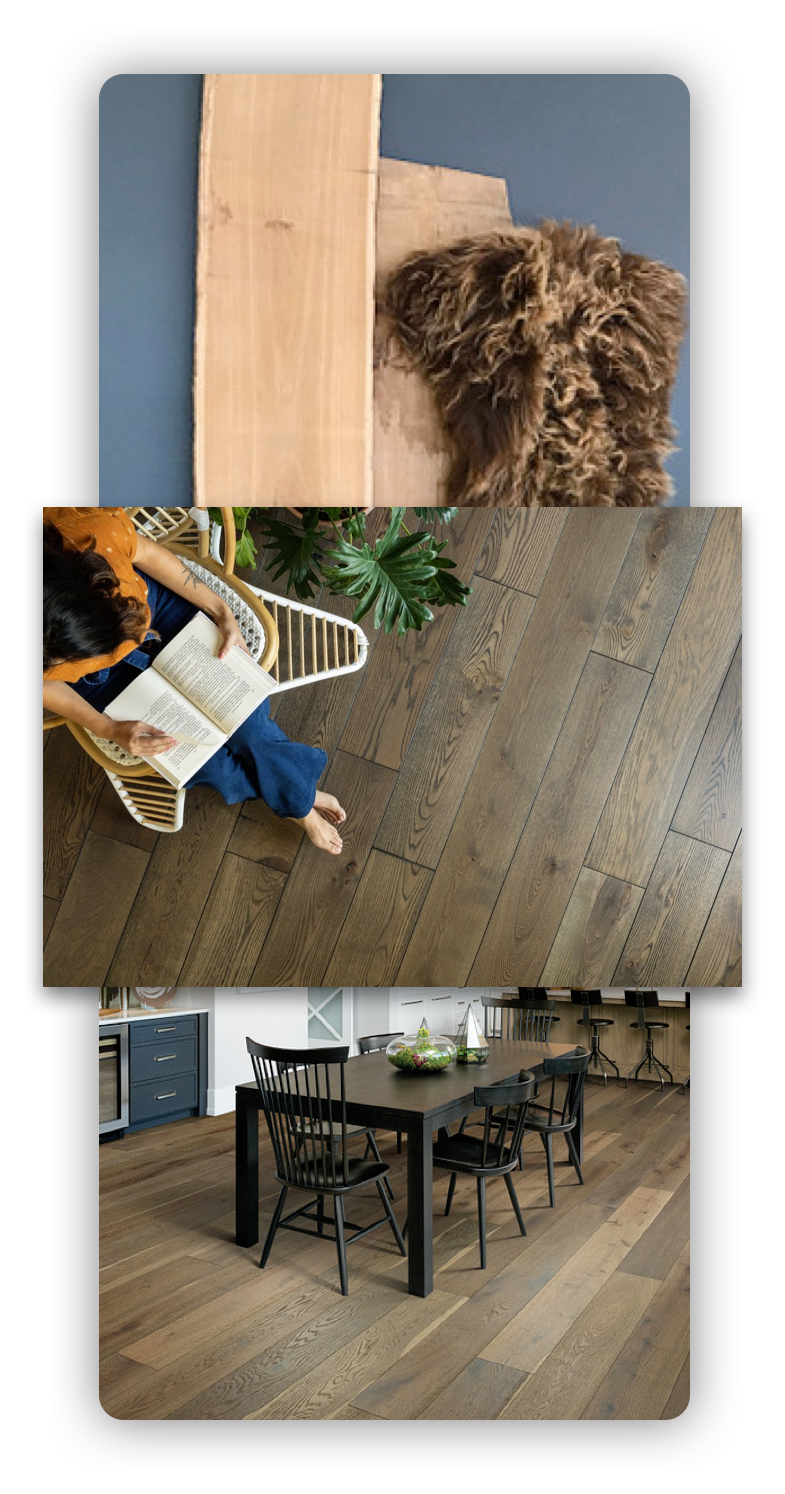 hardwood Features | Broadway Carpets, Inc
