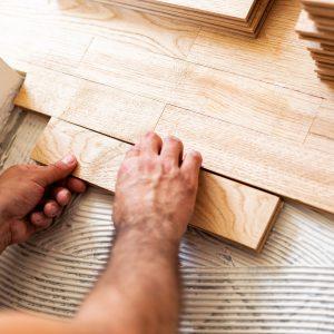 installing hardwood flooring | Broadway Carpets, Inc
