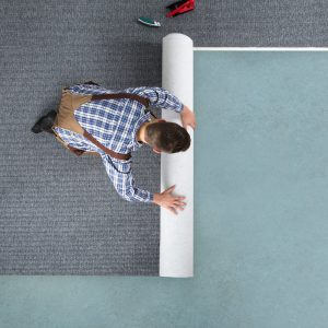 Floor installation | Broadway Carpets, Inc