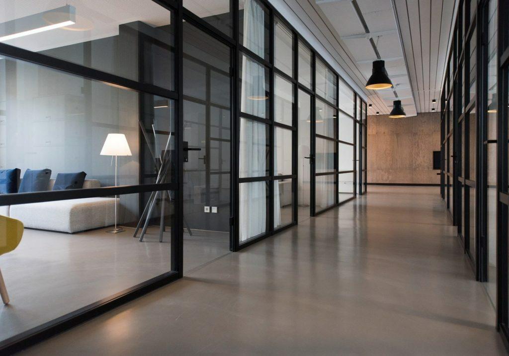 Office interior | Broadway Carpets, Inc